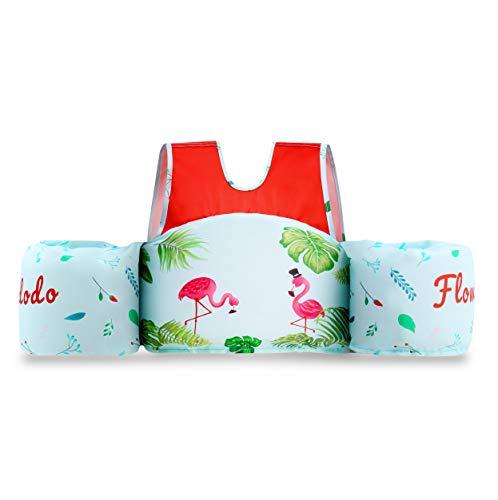 Flowdodo Swimmer Float Vest for Pool Kids Life Jacket...