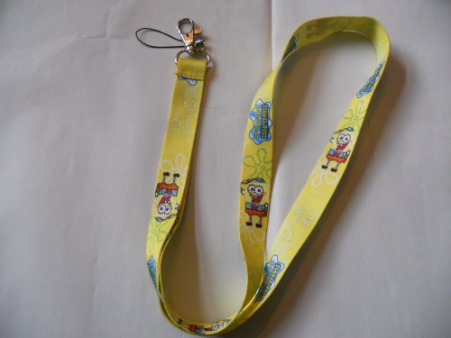 Spongebob Lanyard for Keychain /cell phones/mp3,mp4 players/ID badge #3