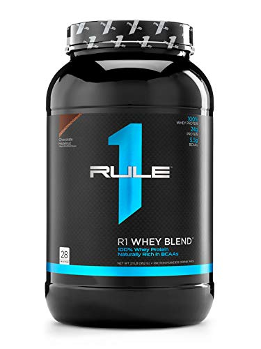 Rule One Proteins R1 Whey Blend 896g Chocolate Hazelnut