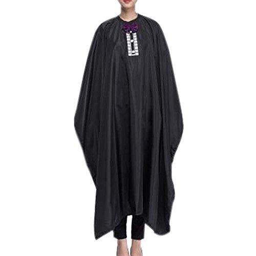 Robe de coiffure en tissu Coupe de cheveux Cape Wrap Protect Hair Design Tablier de coupe de cheveux
