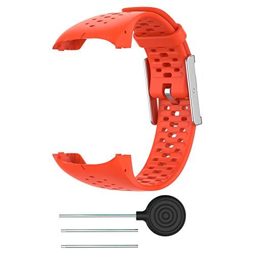 Armband für Polar M400 / M430 GPS Sportuhr, Ersatz Silikon Band, Uhrenarmband Sportarmband für Smart Watch Zubehör