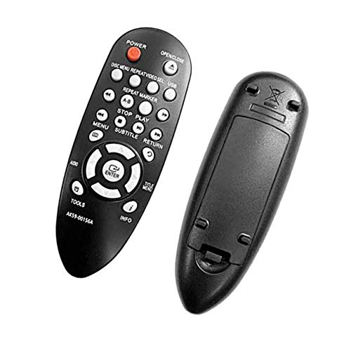 Rssotue New AK59-00156A Replaced Remote Control fit for Samsung DVD-E360/XU Entry DVD Player