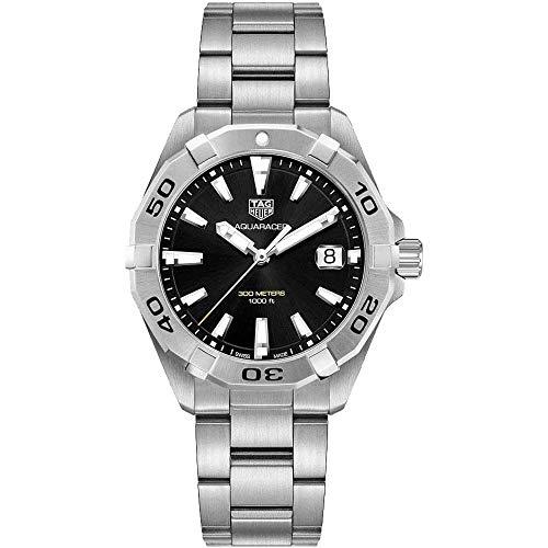 Tag Heuer Aquaracer Brushed Black Dial Mens Watch WBD1110.BA0928