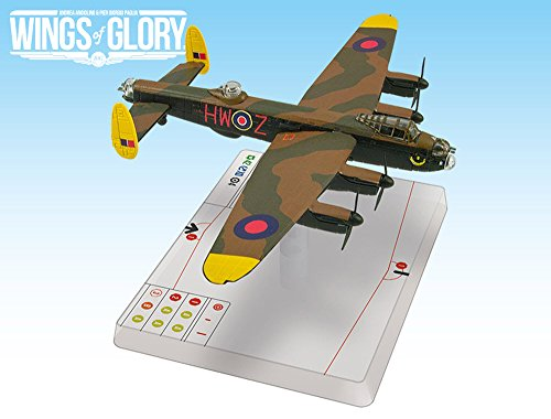 Wings of Glory Juego de Alfombrilla: Coast AREWGS304A (Grog's The Shot Avro Lancaster B MK.III, Multicolor