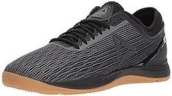 in budget affordable Reebok CROSSFIT Nano 8.0 Flexweave Cross Men's Sneakers, Black / Alloy / Elastic, US 8.5 m
