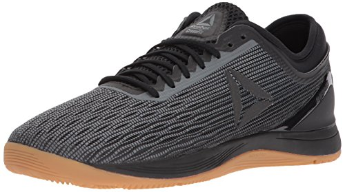 Reebok Men's CROSSFIT Nano 8.0 Flexweave Cross Trainer, Black/Alloy/Gum, 10 M US