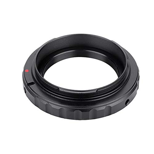 Bewinner Camera Converter,T2/T Mount Aluminum Lens Adapter Ring for Canon EOS EF DSLR 650D 60D 550D,Detachable Adapter Ring,Can Use Alone,Convenient and Practical