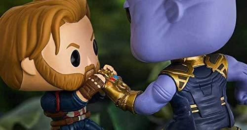 Funko Pop Capitán América vs Thanos (Los Vengadores: Infitiny War Movie Moments) Funko Pop Los Vengadores