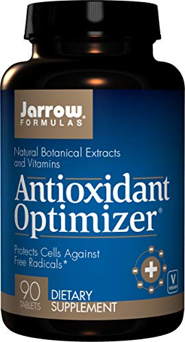 Jarrow Formulas Antioxidant Optimizer, Supports Vision, Cardiovascular Health, 90 Tabs