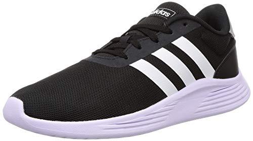 Adidas Baby Boy's Lite Racer 2.0 K Wht RYL Blu Running Shoes-6 Kids UK (EG6907)