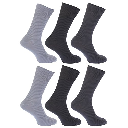 Hosiery-Direct-UK®Herren Socken Schwarz Darks