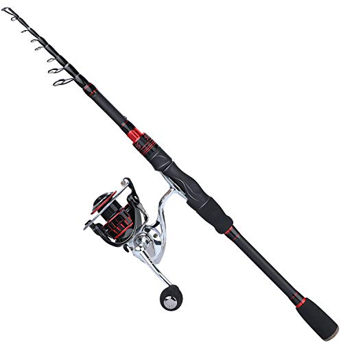 Sougayilang Fishing Rod and Reel Combos, Freshwater Spinning Combos...