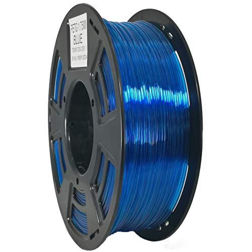Stronghero3D 3D Printing PETG Filament 1.75mm Blue Net Weight 1KG Accuracy +/-0.05mm