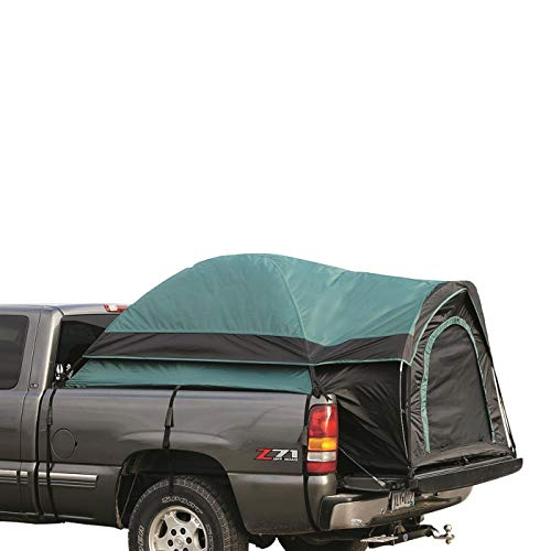 Guide Gear Compact Truck Tent for Camping, Car Bed Camp Tents for Pickup Trucks, Fits Mattresses 72-74', Waterproof Rainfly Included, Sleeps 2