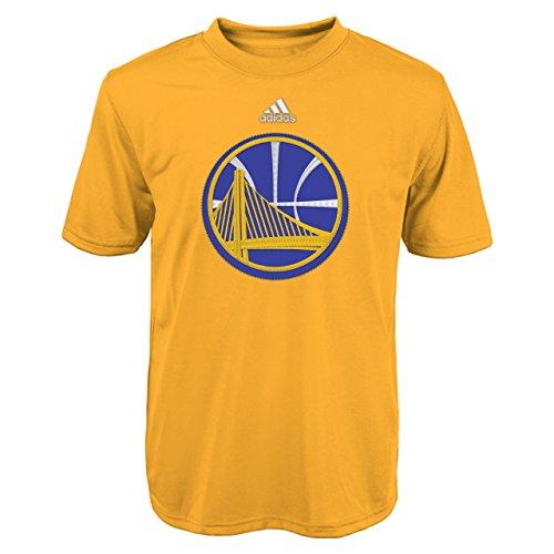 adidas Golden Warriors Baloncesto Ultimate Performance Naranja Juventud tee Camiseta pequeña