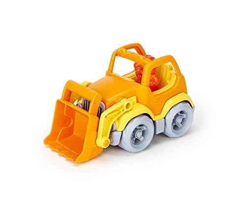 Green Toys Scooper Construction Truck, Yellow/Orange
