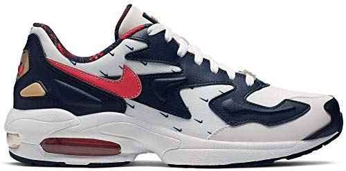 Nike Mens Running Shoes CK0848 100 Air Max 2 Light USA White Size 9