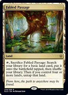 Magic: The Gathering - Fabled Passage - Throne of Eldraine
