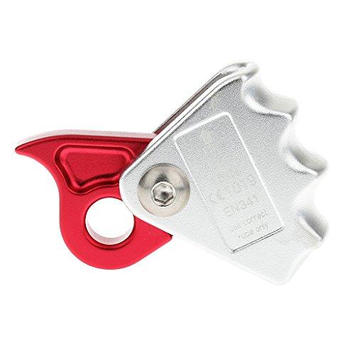 Gazechimp Kletterausrüstung - Kletter Seilgreifer Für 9mm-12mm Seil Abseilgerät - Absturzsicherung Seil Karabiner