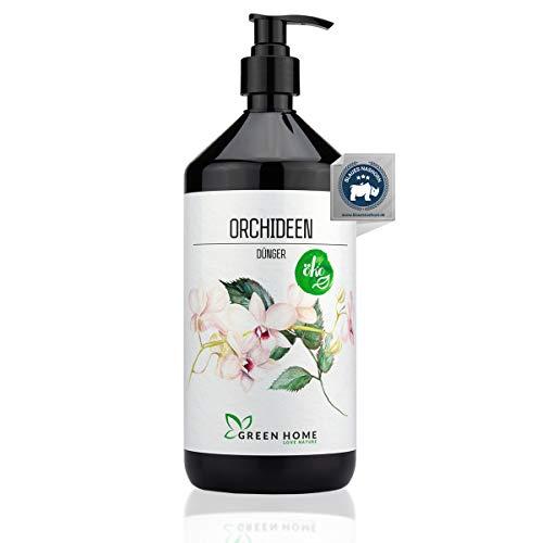 GREEN HOME LOVE NATURE®️ 1L ABONO ECOLÓGICO abono para orquídeas con Alto Contenido en nutrientes - Fertilizante...