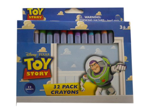 Disney's Toy Story Crayons - 1 Pack of 32 Crayons