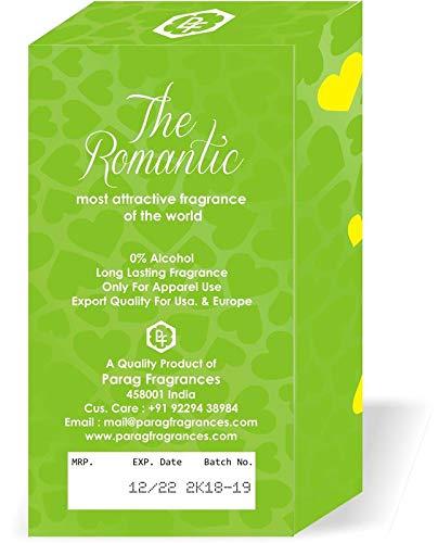 Parag Fragrances Romantic Attar Roll-on 6ml (Long Lasting/Alcohol Free Attar)