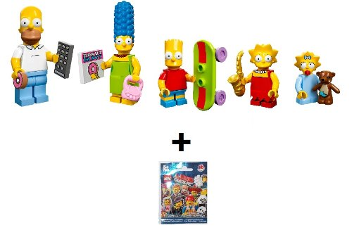 Lego 71005 Simpsons Familien Set + gratis Minifigur