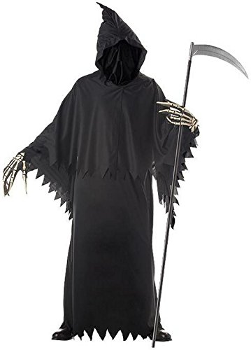 Grim Reaper Deluxe Adult Costume Size One Size