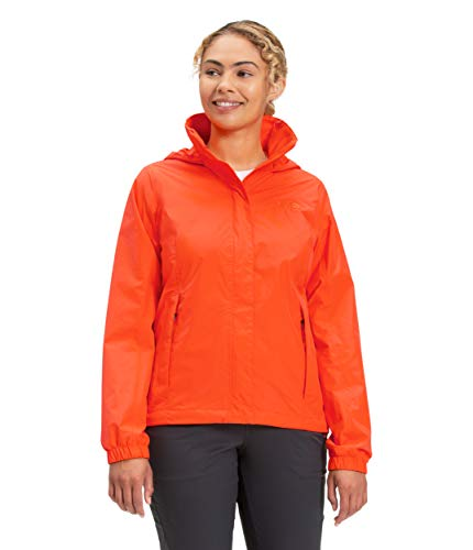 The North Face Women's Resolve 2 Jacket, Flame, S