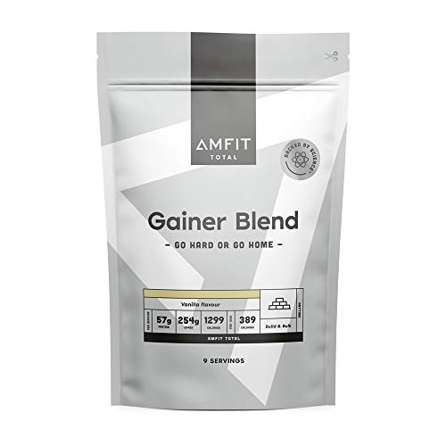Marchio Amazon - Amfit Nutrition Gainer Blend Gusto Vaniglia, 3kg (precedentemente marchio PBN)