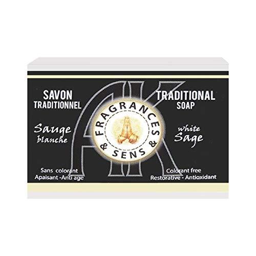 Schoonheid en verzorging – Fragrance et Sens – zeep traditioneel met wit zout – zeep 100 g zonder kleurstoffen