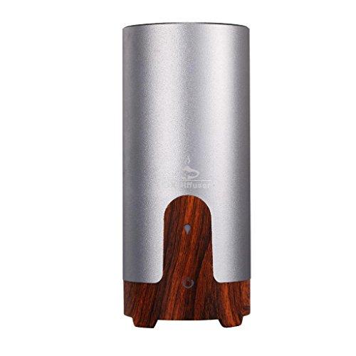 GX Diffuser Aromatherapie Ätherische Öl Diffusor Ultraschall Luftbefeuchter Aroma Luftreiniger USB Portable mit Touch-Taste und Wasserlos Automatisch Abschalten Funktion für Home Office Schlafzimmer