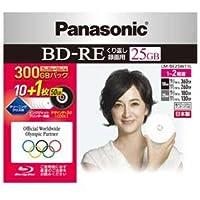 パナソニック ブルーレイディスク 日本製 録画用 2倍速(書換型) 25GB10枚+50GB1枚パック LM-BE25W11L