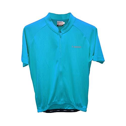 BRUGI T-Shirt Bike K24U (Azzurro, M (48-50))