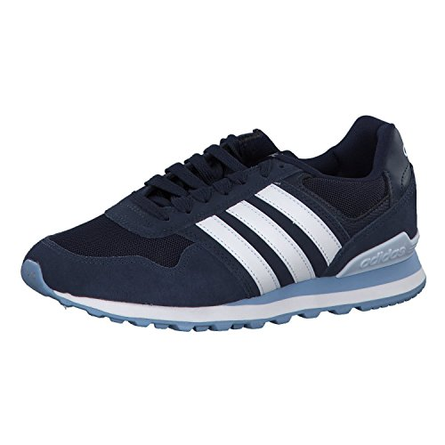 adidas 10k, Zapatillas de Running Mujer, Azul (Collegiate Navy/FTWR White/Aero Blue S18), 44 EU