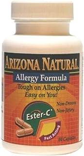 Arizona Natural Resource Allergy Formula, 60 Count