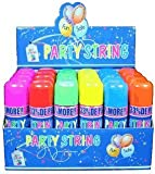 Whoa...Stuff!! Blue Box Party String - not Silly String - 72 Cans