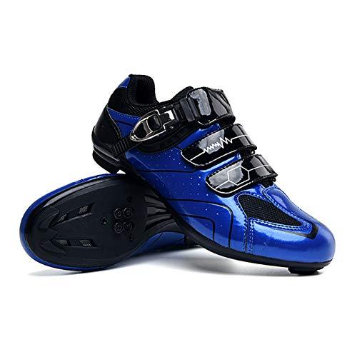 Lixada Zapatillas de Ciclismo para Bicicleta MTB de Carretera para Hombre Zapatillas de Giro Zapatillas con Pedal de Bloqueo Zapatillas de Bicicleta Ultraligeras y Cómodas con Bloqueo Automático