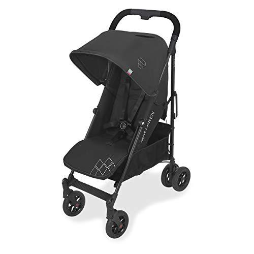 Maclaren Techno Arc Buggy – Neugeborene bis 25 kg, verfügt über eine ausziehbare UPF50+/wasserdichte Haube, einen Sitz mit verstellbarer Positionen und 4-Rad-Federung. Kompatibel mit Babytragetaschen
