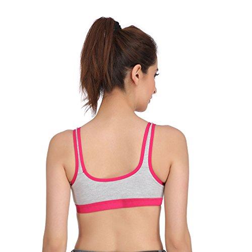 Embibo Sport Women Women Running Bra Full-Coverage Bras Pink Bra Size 32
