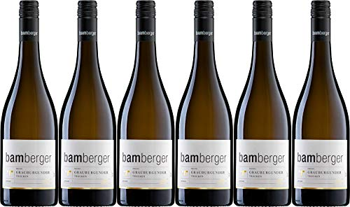 Wein- und Sektgut Bamberger Grauburgunder 2019 Trocken (6 x 0.75 l)