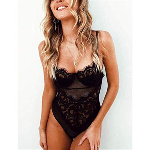 ISKER Badpak Lace Sling Sleepwear Dames Ondergoed Jumpsuit Pyjama's Bodys Dames Dessous Ondergoed Beach Cover Up Suit