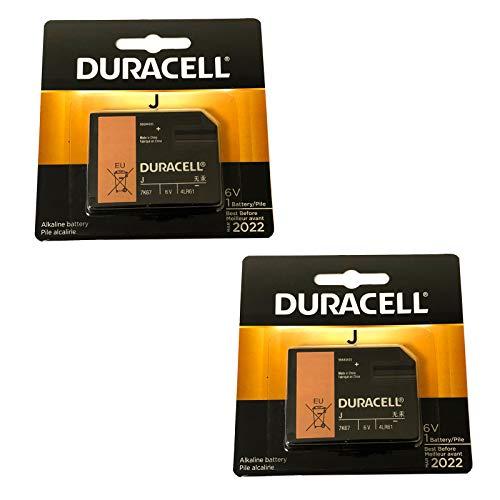 2x Duracell 7K67 6V Battery Replaces 1412A, 4LR61, 7K67, EN539, J, J539, KJ, J/539, J539, 539, 1412AP, 7K67, 7K 67, 867, KJ, 4LR61, 4018, EN539 For GPS Trackers, Child Locators, Medical Devices