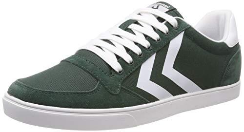 hummel Herren Slimmer Stadil Mono Low Sneaker, Grün (Sycamore 6598), 46 EU