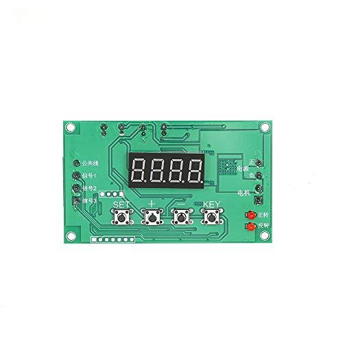 KKmoon DC 7V ~ 24V elektronische kaartbesturingsmodule inversie motor 0,01 s 999min automatische regelaar/snelheid/tijdvertraging/Limited/module
