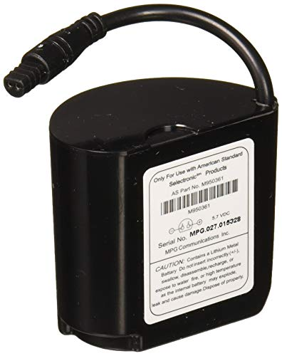 American Standard M950361-0070A Pwrx Long Life Battery For Use With Flush Valves, No Finish