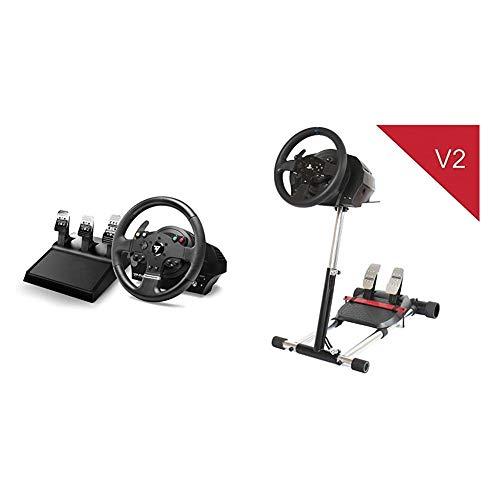 THRUSTMASTER TMX PRO, Volante e pedaliera a 3 Pedali, Compatibile con Xbox One e PC, 28 cm di Diametro T300-TX Deluxe, simulatore di Guida