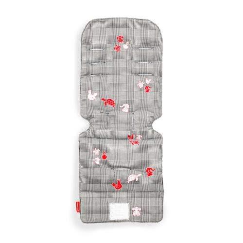 Maclaren - Funda universal para asiento de coche para añadir estilo y comodidad. Dos caras, lavable a máquina. Se fija a correas de arnés de todos los Maclarens y todas las marcas de cochecito