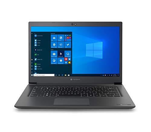 Toshiba Dynabook Tecra A40-G-10G 14' FHD Laptop (Core i7-10510U, PCIEG3x2 NVME 256GB M.2 SSD, 8GB DDR4 2666 MHz RAM, Windows 10 Pro)