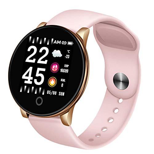 STCMW Reloj Inteligente para Hombre Reloj Deportivo Inteligente Rastreador de Ejercicios Presión Arterial Detección del Ritmo cardíaco Podómetro Healthwatch para Android iOS